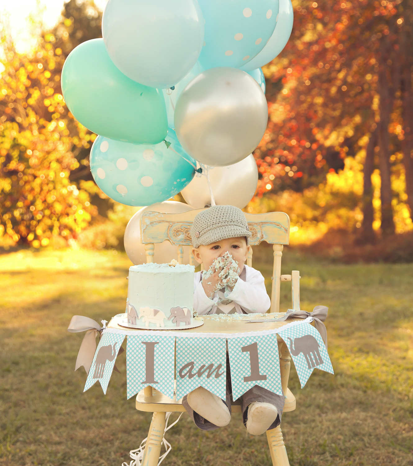 10 1st birthday party ideas for boys part 2 tinyme blog for Baby birthday decoration
