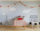 Children's party with an air of Paris | 10 1st Birthday Party Ideas for Boys - Tinyme Blog