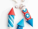 Lively rockets favor | 10 4th of July Decoration Ideas - Tinyme Blog
