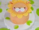 Alarmingly adorable lion treats | 10 Adorable Animal Cakes Part 2 - Tinyme Blog