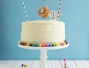 Carnival inspired cake topper | 10 Adorable Cake Toppers Part 2 - Tinyme Blog