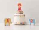 Geo Circus Cake Topper| 10 Adorable Cake Toppers Part 3 - Tinyme Blog