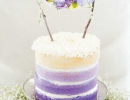 Pretty Lavender Woodland | 10 Adorable Cake Toppers - Tinyme Blog