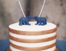 Sweet & Sparkly Bears cake topper| 10 Adorable Cake Toppers - Tinyme Blog