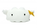Irresistible giant white cloud cushion | 10 Adorable Kids Cushions - Tinyme Blog