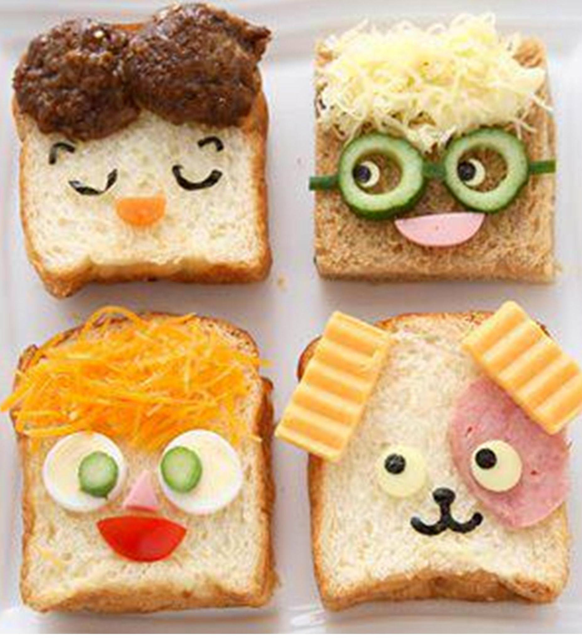10 amazingly appetising food art designs part 3 tinyme blog for Fun kid food crafts