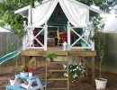 Gorgeous cubby hideout | 10 Amazingly Awesome Cubby Houses Part 2 - Tinyme Blog