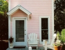 Shabby chic pink cottage | 10 Amazingly Awesome Cubby Houses Part 3 - Tinyme Blog