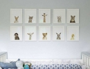 Sophisticated space adorned with charming collection of baby animals | 10 Animal inspired Kids Bedrooms - Tinyme Blog