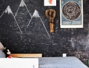 Funky wall treatments | 10 Awesome Chalkboard Walls - Tinyme Blog