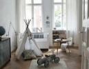 Gorgeous neutral nursery with teepee | 10 Baby Boy Nurseries - Tinyme Blog