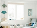 Contemporary blue themed baby nursery | 10 Baby Boy Nurseries - Tinyme Blog