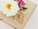 Fancy & crafty looking present | 10 Beautifully Wrapped Presents - Tinyme Blog
