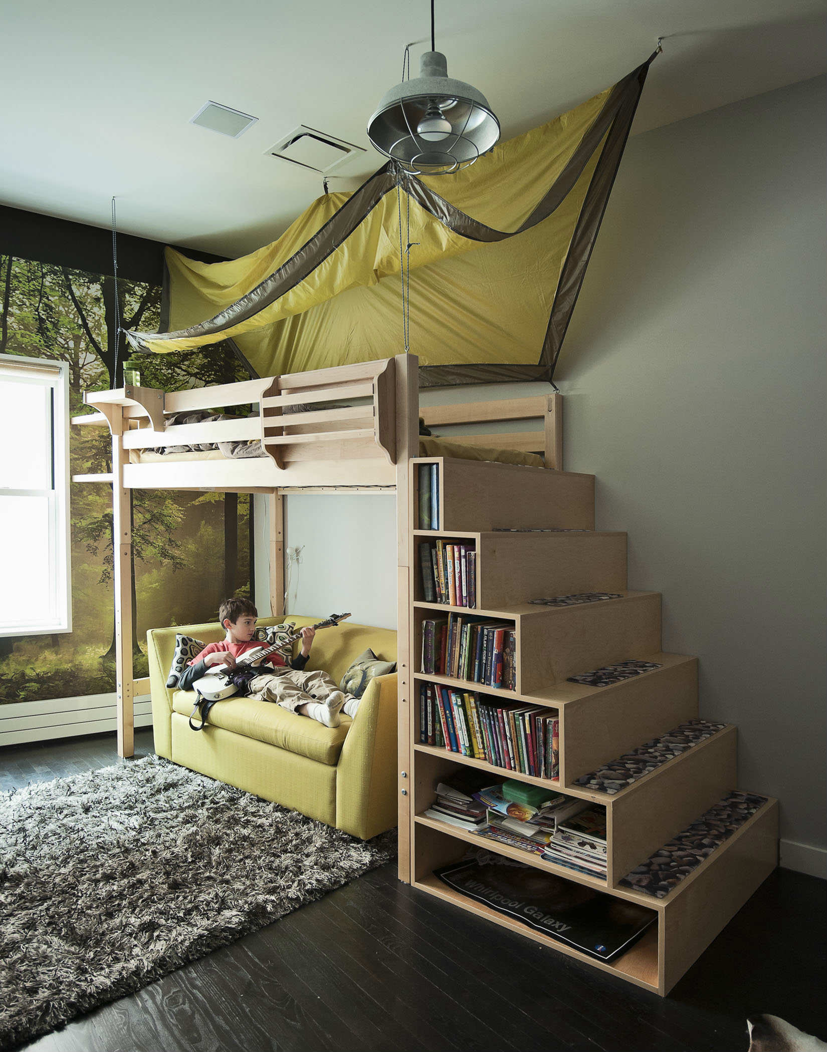 Wondrous Cool Wood Bunk Bed