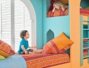 So good tangy orange! | 10 Best Built-in Bunk Beds - Tinyme Blog