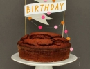 Sweet paper cake toppers | 10 Birthday Cake Toppers - Tinyme Blog