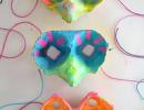 Egg Carton Masks | 10 Cardboard Crafts - Tinyme Blog
