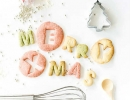Lovely alphabet cookies | 10 Christmas Cookies - Tinyme Blog