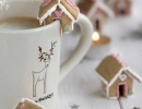 Delectable little gingerbread houses | 10 Christmas Cookies - Tinyme Blog