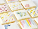 Don't miss out on these gorgeous homemade watercolor cookies | 10 Clever Cookies Part 3 - Tinyme Blog