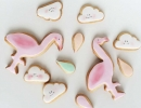 Super tasty flamingo cookies | 10 Clever Cookies Part 3 - Tinyme Blog