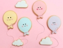Balloon shaped cookies are the way to go! | 10 Clever Cookies Part 3 - Tinyme Blog
