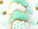 Fell in love with these cloud cookies | 10 Clever Cookies Part 3 - Tinyme Blog