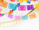 Adorable DIY fiesta balloon ceiling | 10 Colourful and Fun Party Ideas - Tinyme Blog