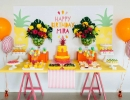 Super sweet tutti frutti pool party | 10 Colourful and Fun Party Ideas - Tinyme Blog