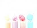Uniquely beautiful pastel cotton candy cream soda | 10 Colourful Cotton Candy Treats - Tinyme Blog
