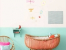What's better for a good night's sleep than resting in a a bright modern nursery | 10 Colourful Nurseries - Tinyme Blog