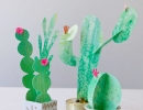 Unique handmade cacti | 10 Cute Cactus Projects - Tinyme Blog