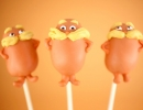 The Lorax Cake Pops | 10 Cute Cake Pops - Tinyme Blog