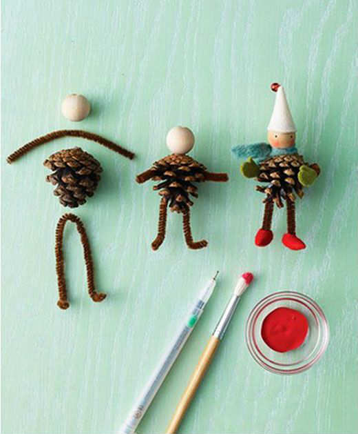 10 Cute Christmas Crafts Part 2 - Tinyme Blog