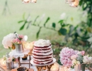 Rustic chic dessert display | 10 Delightful Dessert Table Ideas - Tinyme Blog
