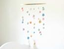 Felted Ball Mobile | 10 DIY Baby Mobiles - Tinyme Blog