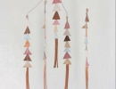 Leather Triangle Mobile | 10 DIY Baby Mobiles - Tinyme Blog