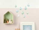 Rain Cloud Mobile | 10 DIY Baby Mobiles - Tinyme Blog