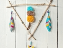 Handmade Feather Mobile | 10 DIY Baby Mobiles - Tinyme Blog