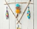 Handmade Feather Mobile | 10 DIY Baby Mobiles - Tinyme Blog