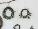 Rustic Christmas décor | 10 DIY Christmas Wreaths - Tinyme Blog