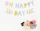 Cheerful printable garlands | - Tinyme Blog