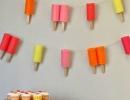 Jumbo popsicle garland | - Tinyme Blog