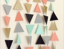 Geometric garland | - Tinyme Blog