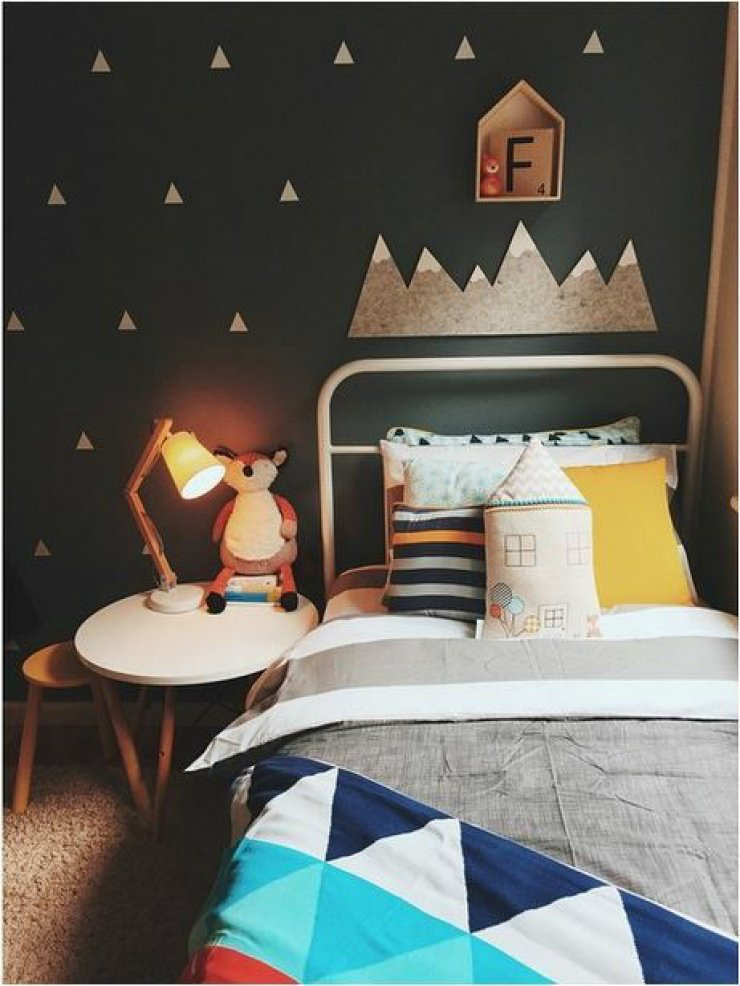 10 Dramatically Dark Kids Rooms Tinyme Blog