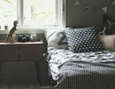 Stunning scandinavian room | 10 Dramatically Dark Kids Rooms - Tinyme Blog