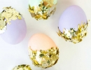 DIY Confetti Dipped Easter Eggs | 10 Easter Egg Decorating Ideas - Tinyme Blog