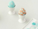 Painterly Pastel Eggs | 10 Easter Egg Decorating Ideas - Tinyme Blog