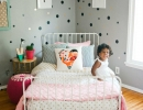 Chic soft grey kids room | 10 Ecclectic Kids Rooms - Tinyme Blog