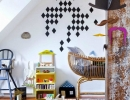 Super dooper cute and so bloody adorable room for a little one! | 10 Ecclectic Kids Rooms - Tinyme Blog